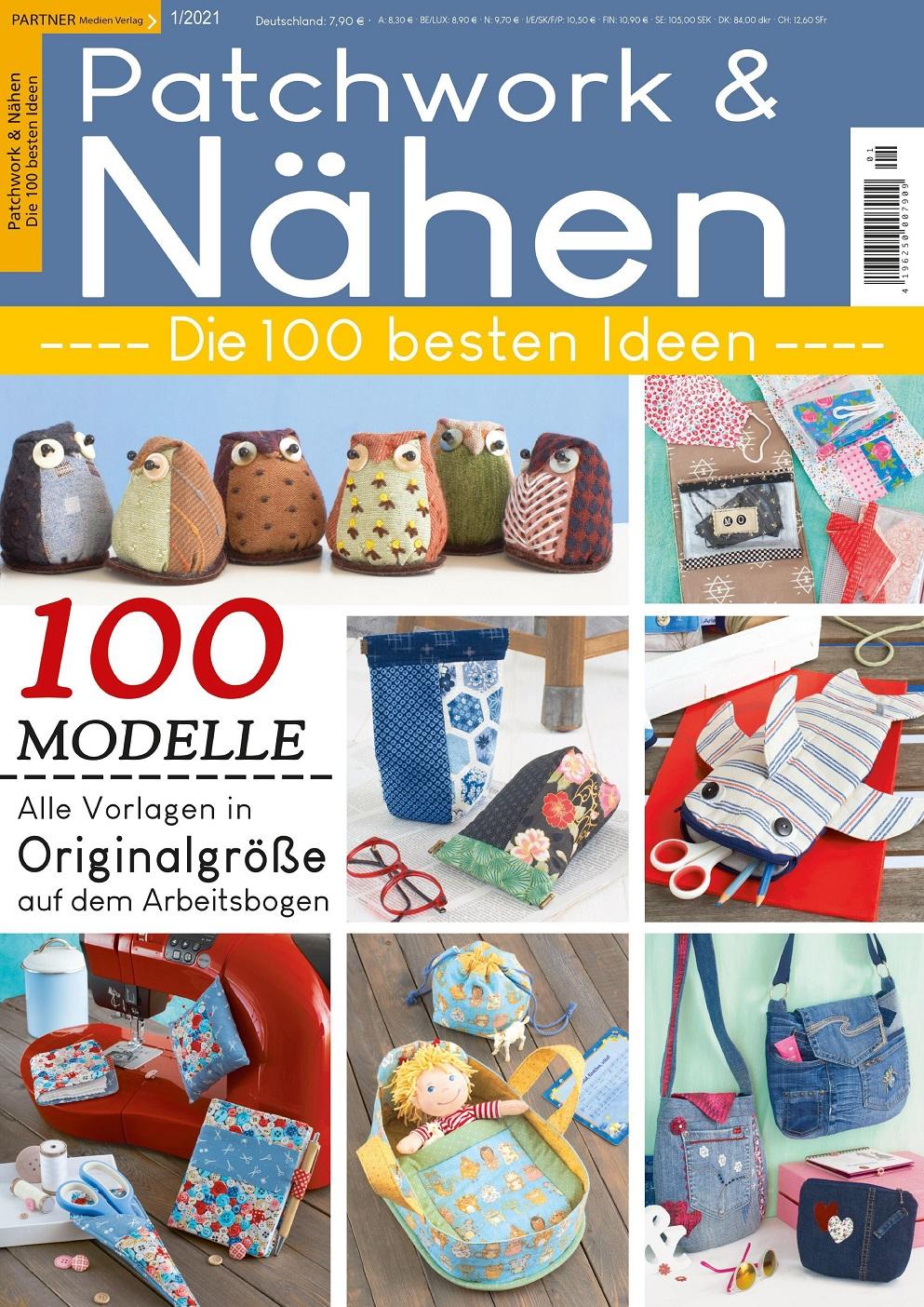 Немецкий журнал по пэчворку Patchwork & Nahen Spezial №1 2021