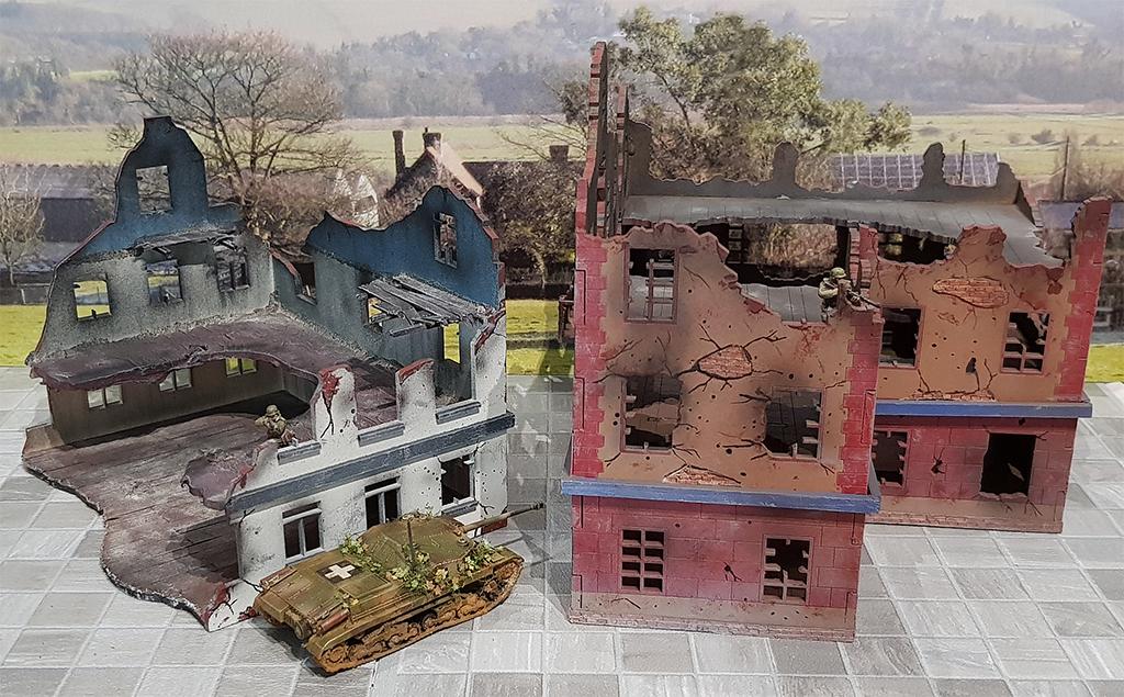 Zwei 20mm Ruinen von Terrains4Games Arminace-terrain4games-ruins-3