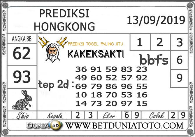 "Prediksi Togel ""HONGKONG"" DUNIA4D 13 SEPTEMBER 2019"