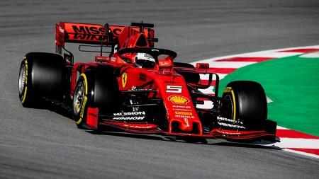 2019 SEBASTIAN VETTEL F1 CAR RACE DVD