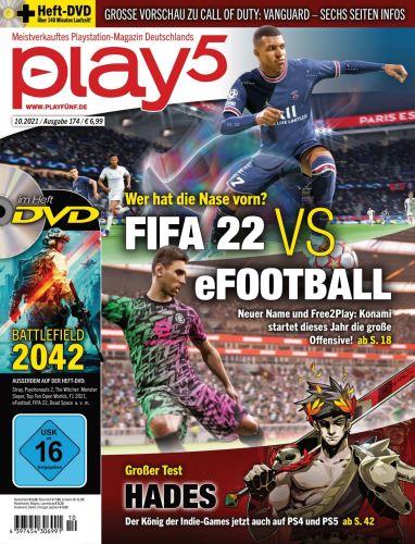 Cover: Play5 Playstation-Magazin No 10 2021