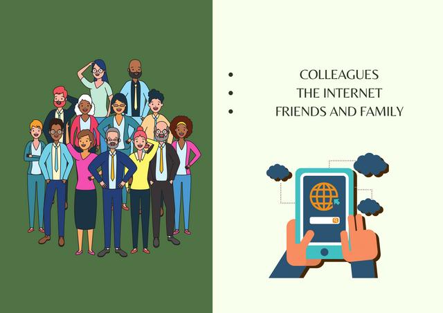 Colleagues-The-internet-Friends-and-family