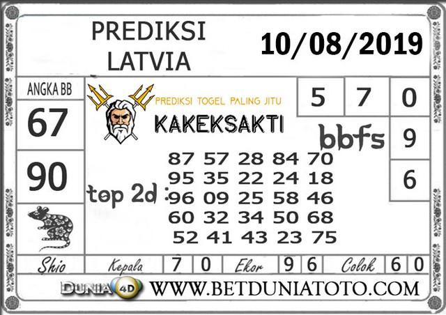 "Prediksi Togel ""LATVIA"" DUNIA4D 10 AGUSTUS 2019"