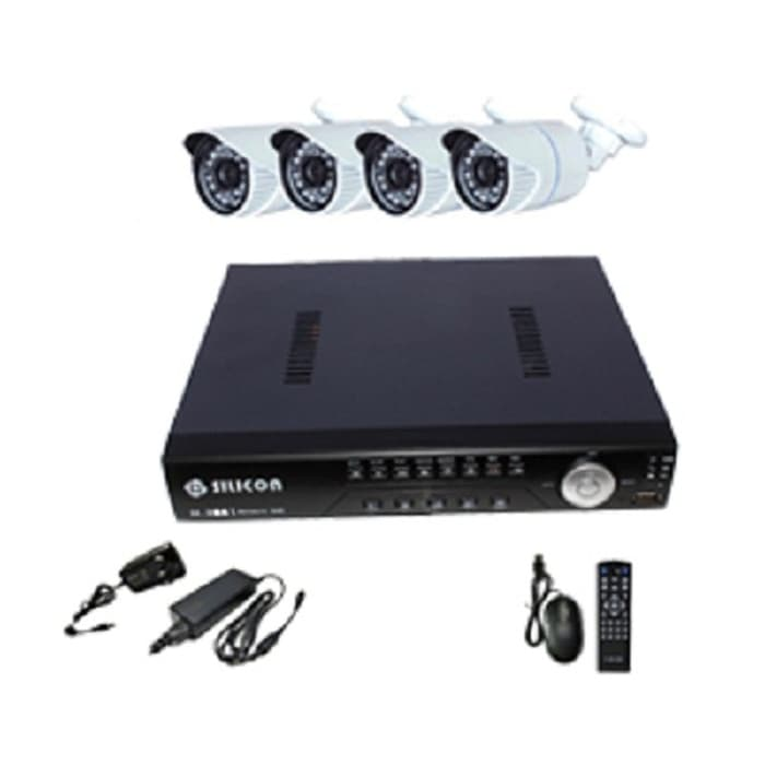 CAMERA CCTV IP Camera 4 Channel