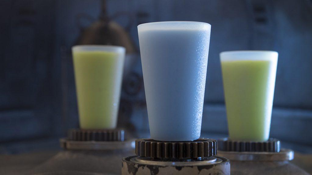 Star Wars Land Blue Milk