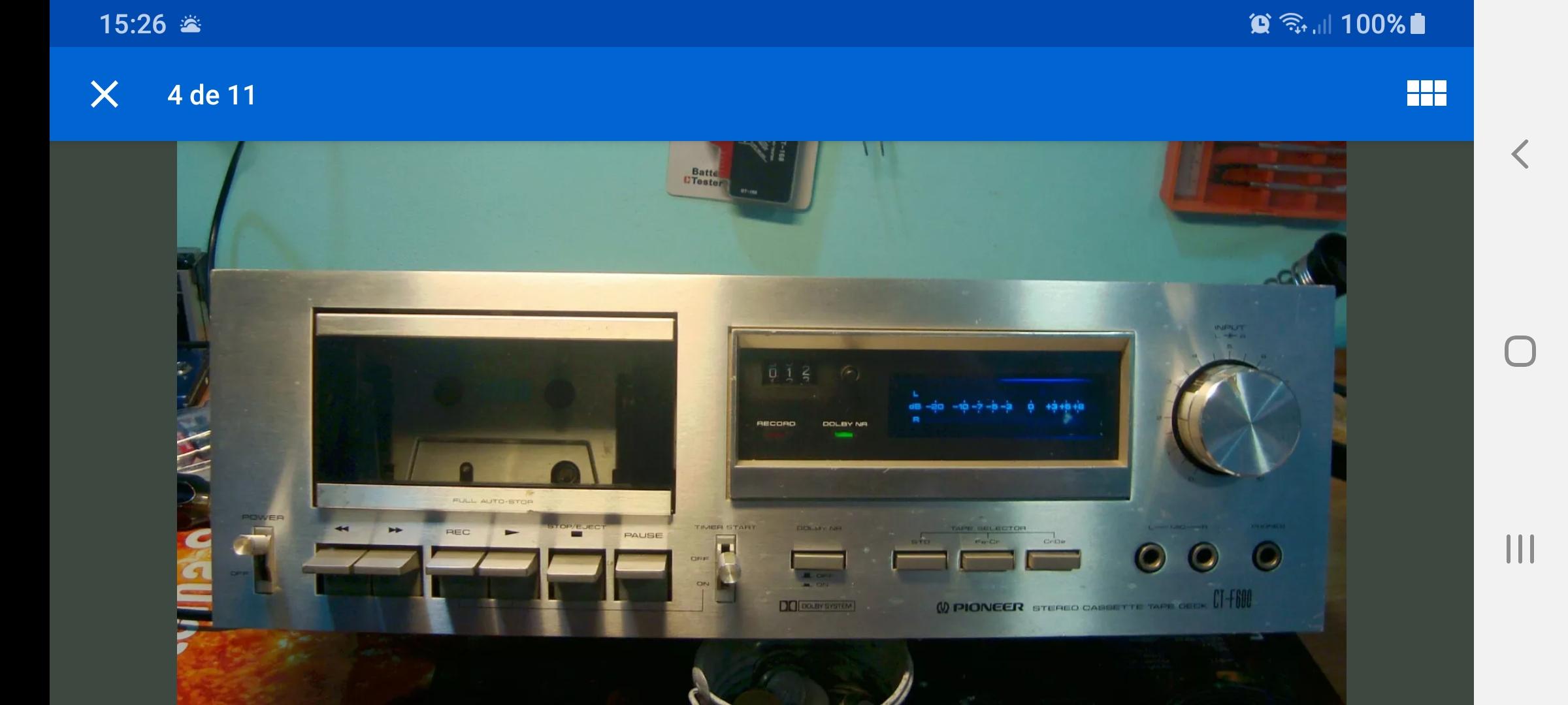 Pletina Pioneer CT-F600 Screenshot-20200125-152624-e-Bay