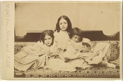 Edith,_Ina_and_Alice_Liddell_on_a_Sofa_MET_DP296247