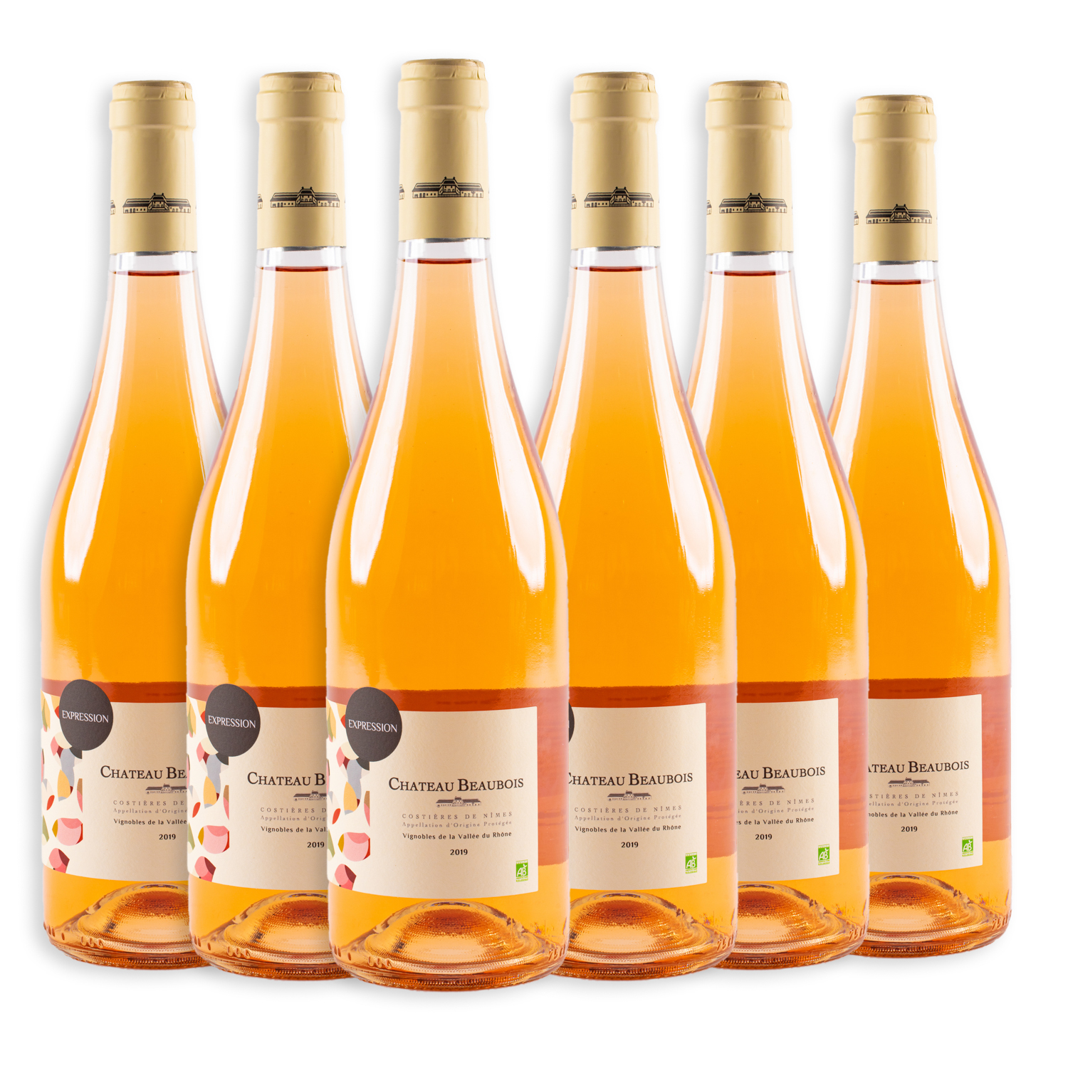 6 sticle x Chateau Beaubois Expression Rose 2019 750ml