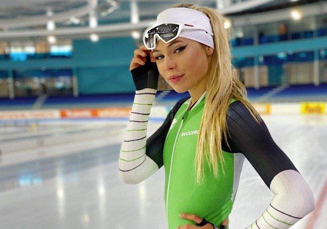 Ютта Лердам – самая красивая конькобежка мира