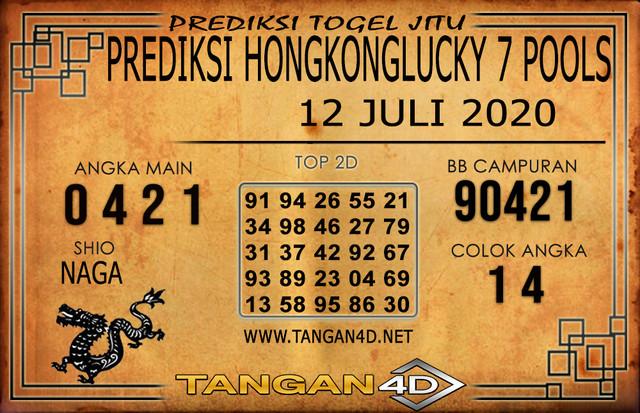 PREDIKSI TOGEL HONGKONG LUCKY 7 TANGAN4D 12 JULI 2020