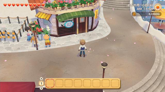 「牧場物語」系列首次在Nintendo SwitchTM平台推出全新製作的作品!  『牧場物語 橄欖鎮與希望的大地』 於今日2月25日(四)發售 047