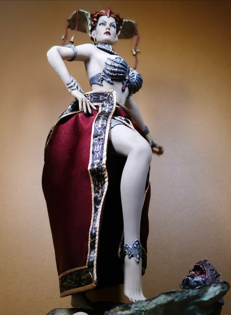 sideshow - NEW PRODUCT: Tbleague x SIDESHOW New: 1/6 Court of the Dead: Gethsemoni The Dead Queen action figure (PL2019-147) 30
