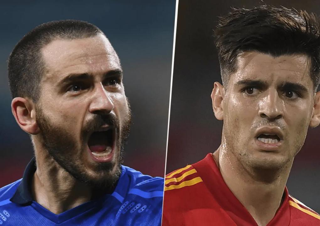 Dove vedere ITALIA SPAGNA Streaming TV Online: Bonucci vs Morata | Semifinale Euro2020