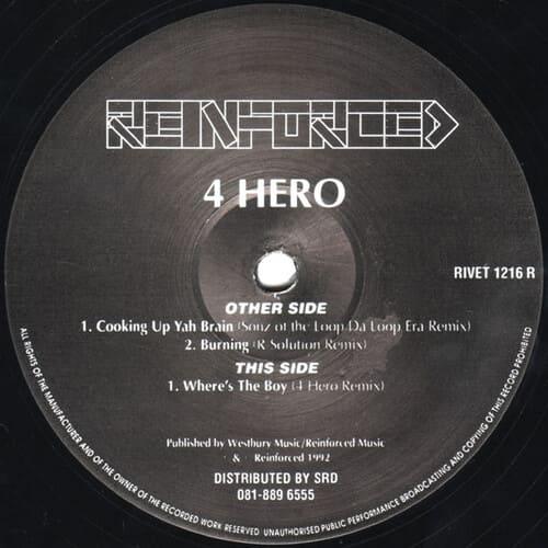Download 4 Hero - Remixes mp3