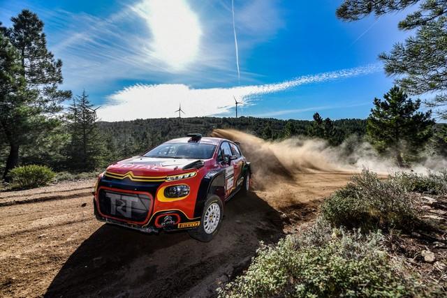 La C3 R5 Toujours En Tête Du WRC3 Avec Bulacia BOG2278-0
