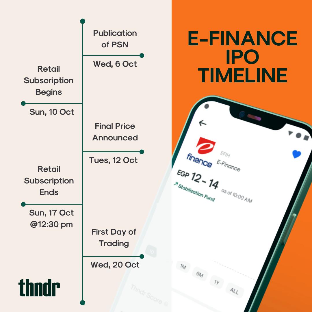 E-finance-schedule