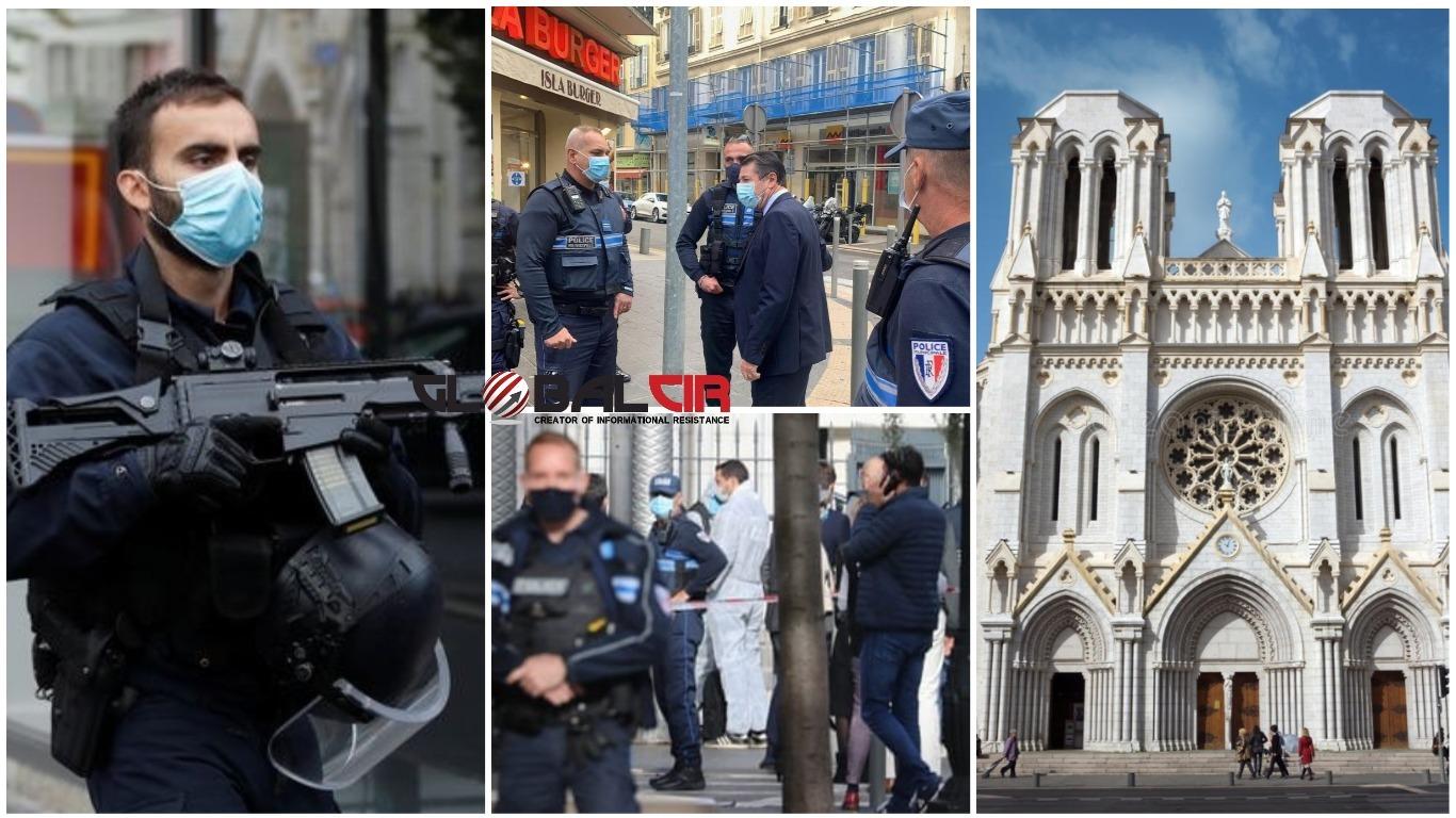 (VIDEO) TERORISTIČKI HOROR U FRANCUSKOJ! U napadu nožem pored bazilike u Nici ubijene dvije osobe, jedna žena obezglavljena!