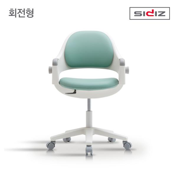 [코드번호:W0052][IDIZ] 시디즈 INGO 50 인조가죽 학생용 의자_N500V_그린 (주문 ...