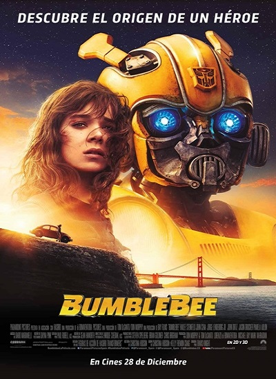 descargar Bumblebee (2018)[HDTV-Screener 1080p][Castellano MiC][Acción][VS] gartis