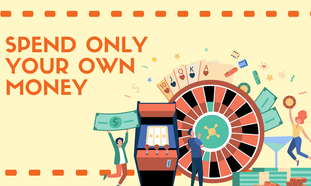 Spend-only-your-own-money
