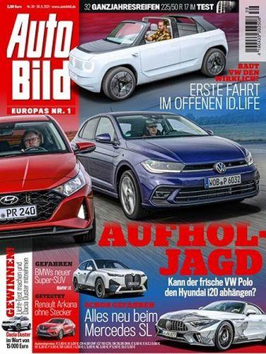 Cover: Auto Bild Magazin No 39 vom 30  September 2021
