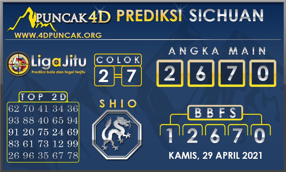 PREDIKSI TOGEL SICHUAN PUNCAK4D 29 APRIL 2021