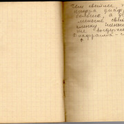 Zina Kolmogorova diary 15