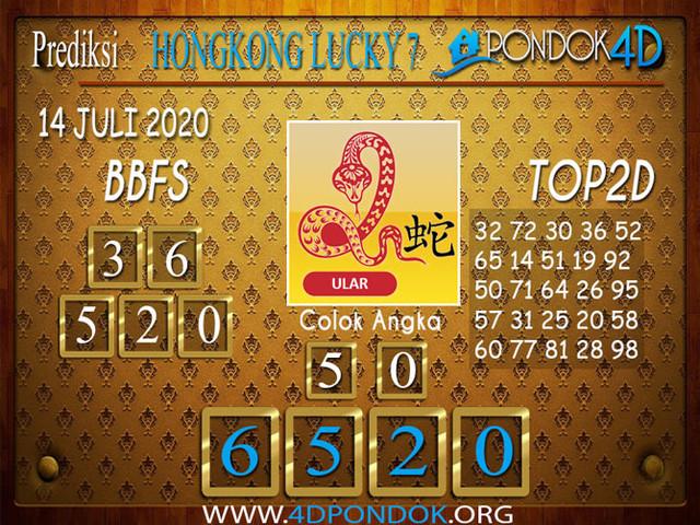 Prediksi Togel HONGKONG LUCKY 7 PONDOK4D 14 JULI 2020