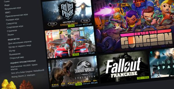 Сразу две игры стали временно бесплатными в Steam
