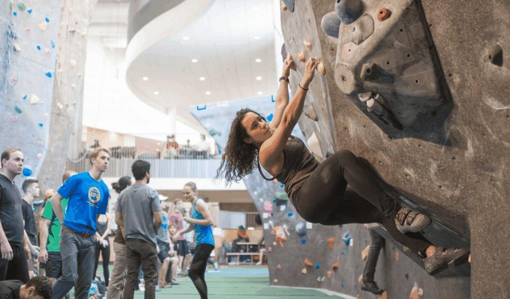 Fry Club Olympic Climbing Athlete
