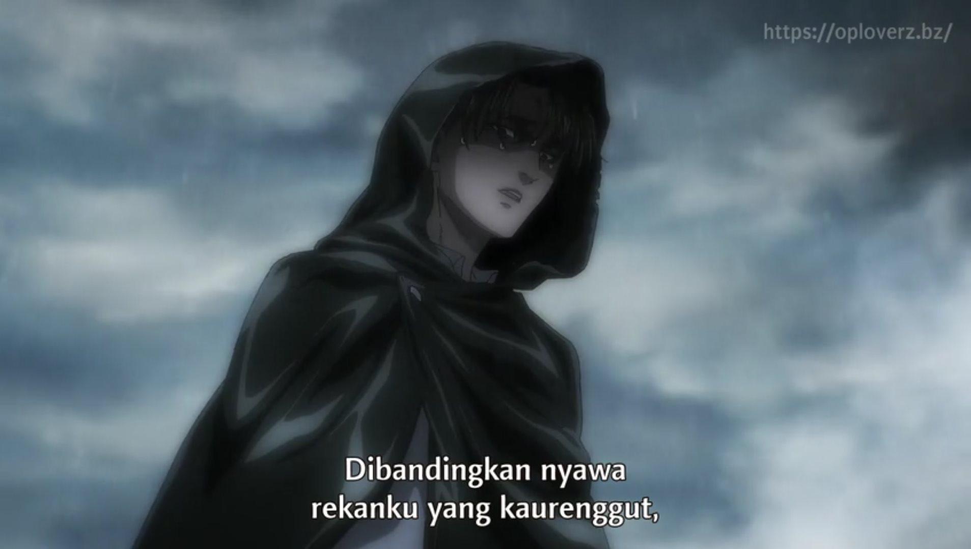 Shingeki no Kyojin Season 4 Episode 15 Subtitle Indonesia