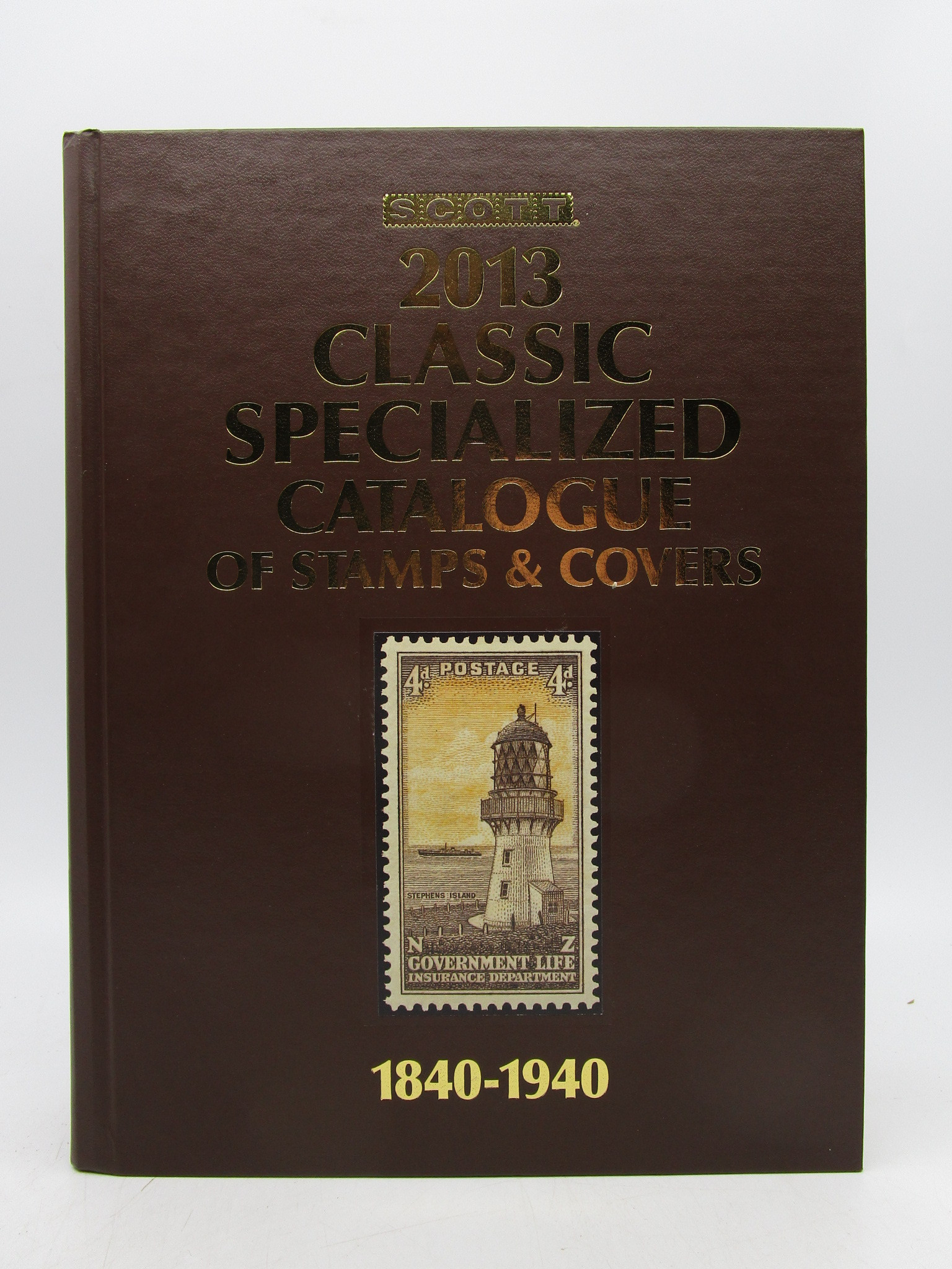Image for Scott Classic Specialized Catalogue 2013: Stamps and Covers of the World Including the U.S. 1840 - 1940 (British Commonwealth to 1952)