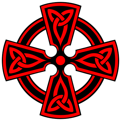 400px-Celtic-Cross-Vodicka-decorative-triquetras-red-svg