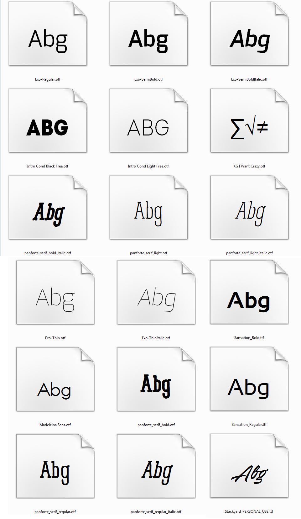 100 Türkçe yazı fontu