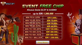 bonus free chip slot