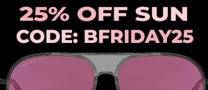 25% off sunglasses