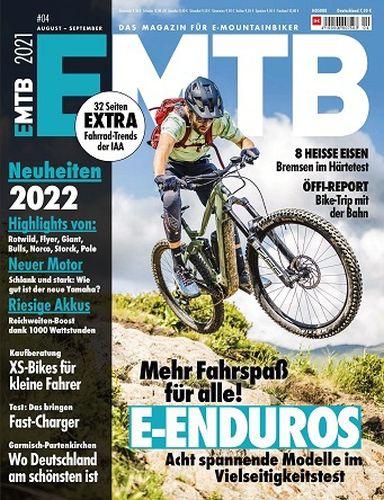 Cover: Emtb-Das Magazin für E-Mountainbiker August-September No 04 2021