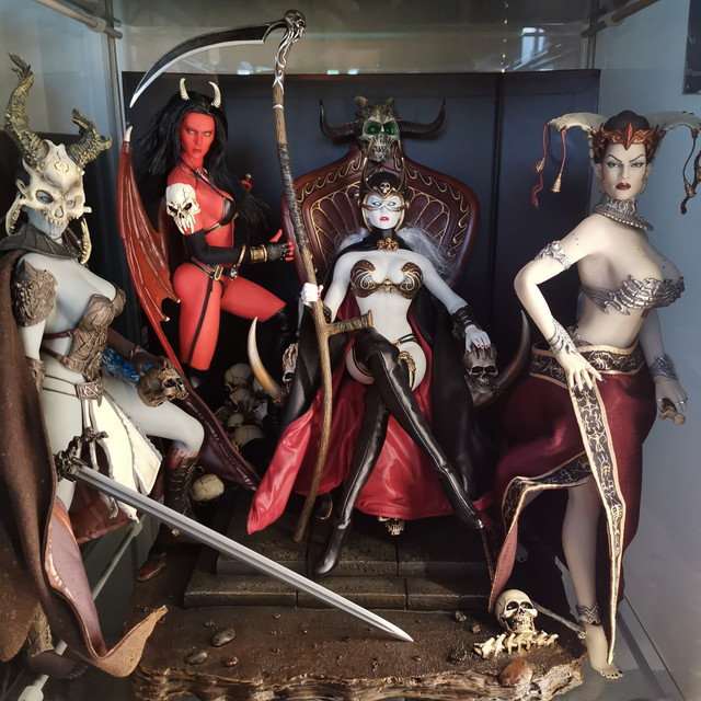 sideshow - NEW PRODUCT: Tbleague x SIDESHOW New: 1/6 Court of the Dead: Gethsemoni The Dead Queen action figure (PL2019-147) IMG-20200523-154241