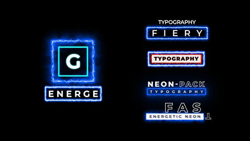 Neon Lower Third 33728704 - Project for After Effects (Videohive)
