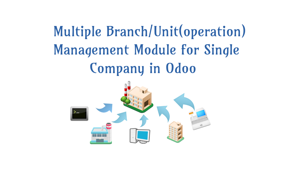 How to manage Multiple Branch Operation Set-up with Odoo ?