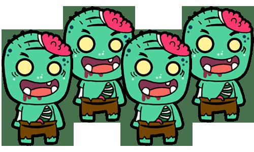 Pesca de Zombies [Puesto Evento Halloween] Pesca