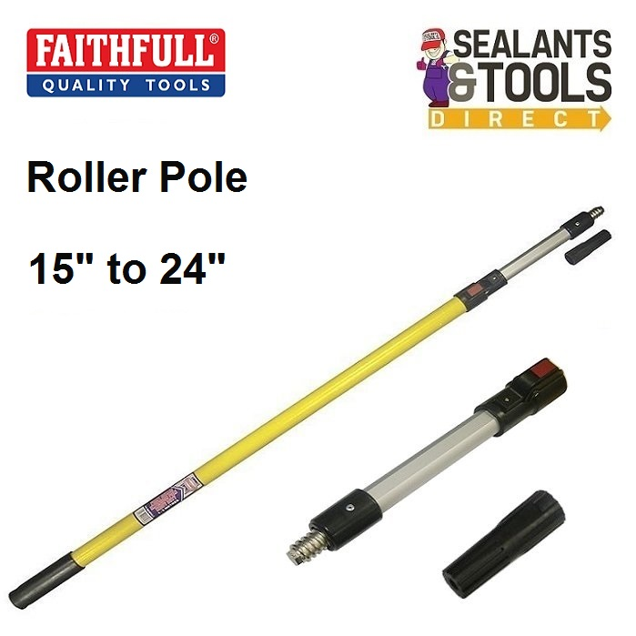 Faithfull-Paint-Roller-Frame-Extension-Pole-Short-FAIREXPOLES