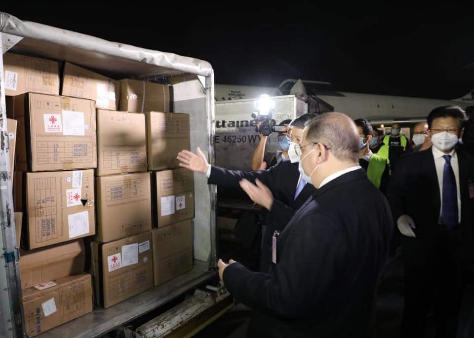 الصين ترسل شحنة مساعدات طبية لمصر لمواجهة كورونا