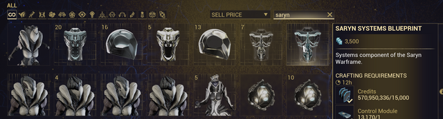 Warframe Part Farming Old Era General Warframe Forums Control modules, they are a component in warframe that everyone needs but not everyone. warframe forums