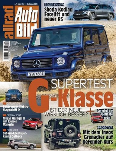 Cover: Auto Bild Allrad Magazin No 09 September 2021