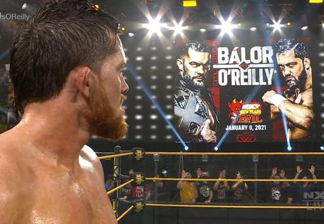 Kyle O Reilly luchara contra Finn Bálor en New Years Evil