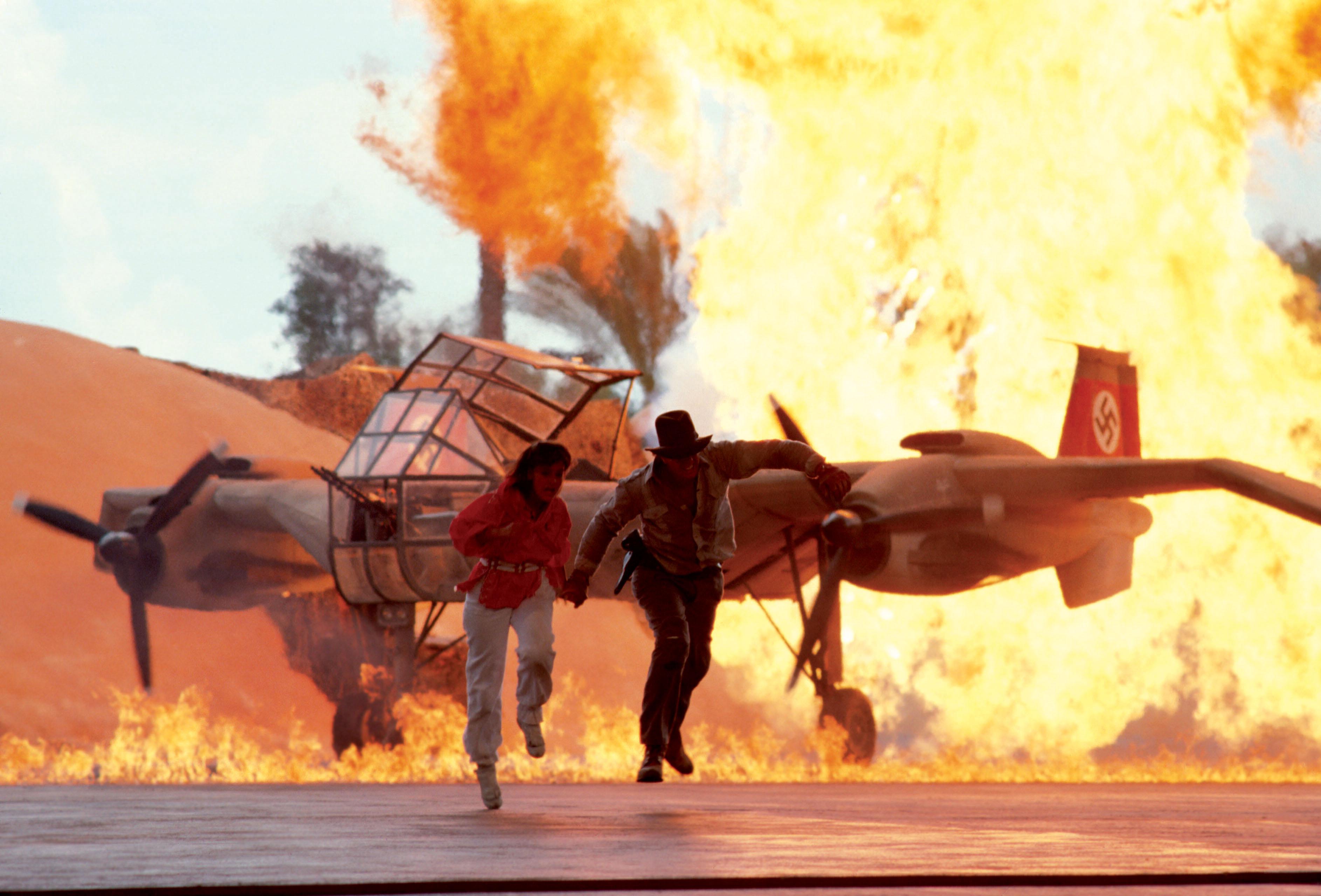 Indiana Jones stunt show at Walt Disney World