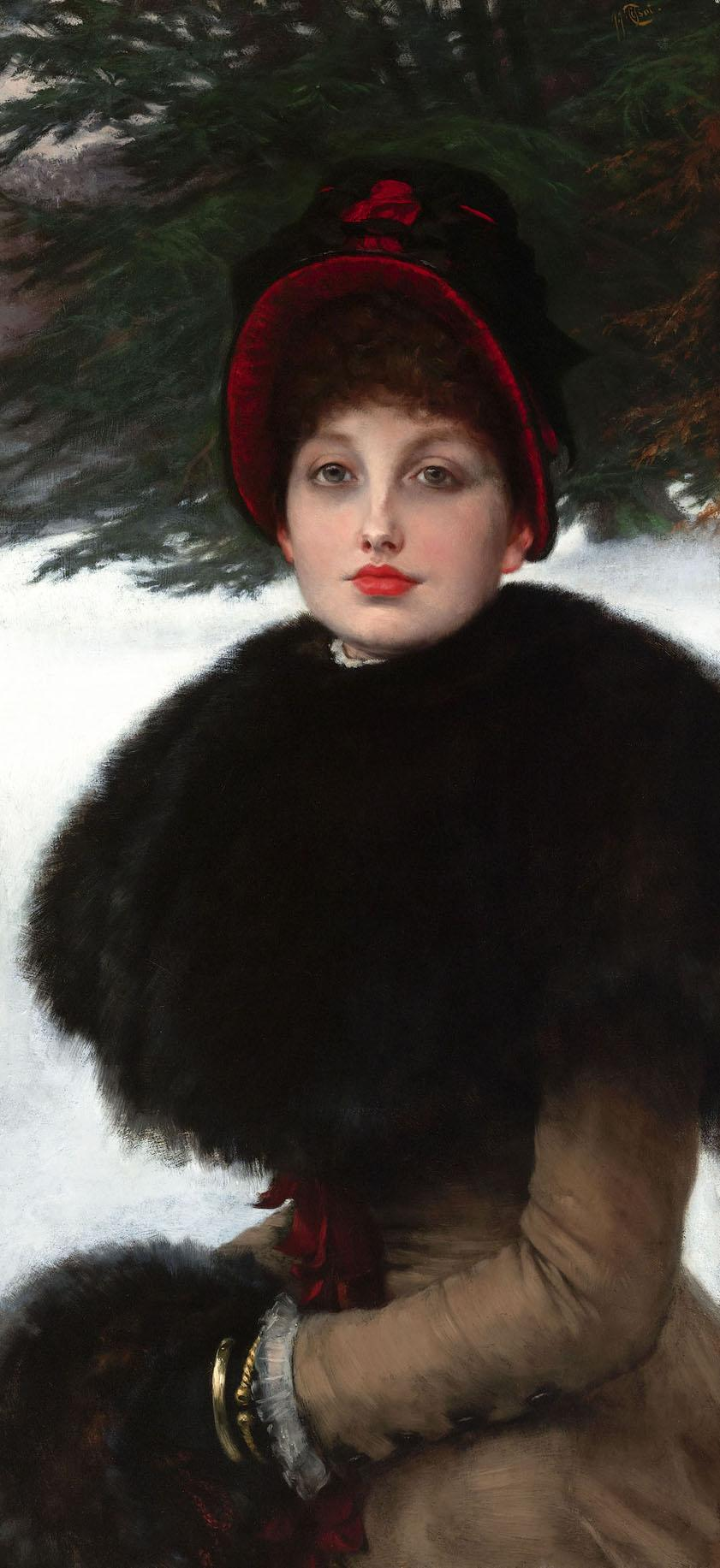 A-Winter-s-Walk-Promenade-dans-la-neige-by-James-Jacques-Joseph-Tissot