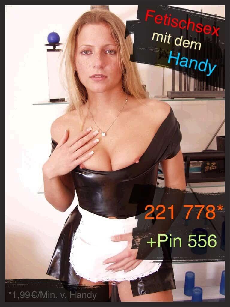 Fetisch Telefon Sex mit dem Handy