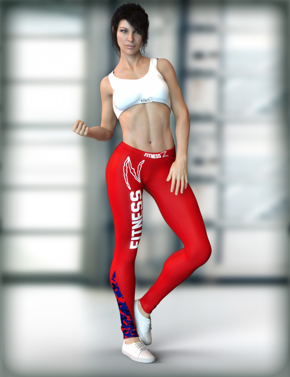 X-Fashion Activewear Outfit for